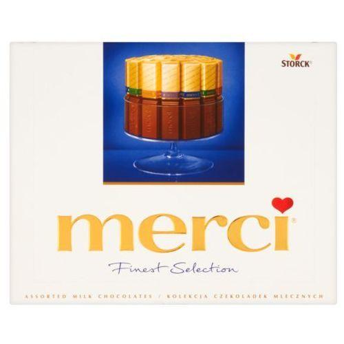 MERCI 250g Finest Selection Kolekcja czekoladek mlecznych (4014400901405) - OKAZJE