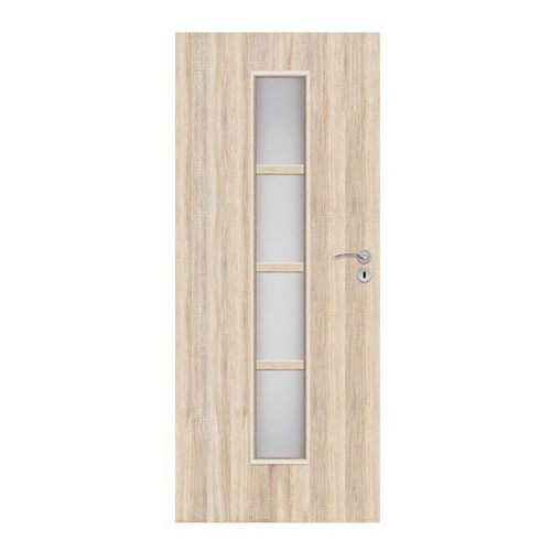 Drzwi pokojowe Olga 80 lewe dąb sonoma, SOLGADS000014