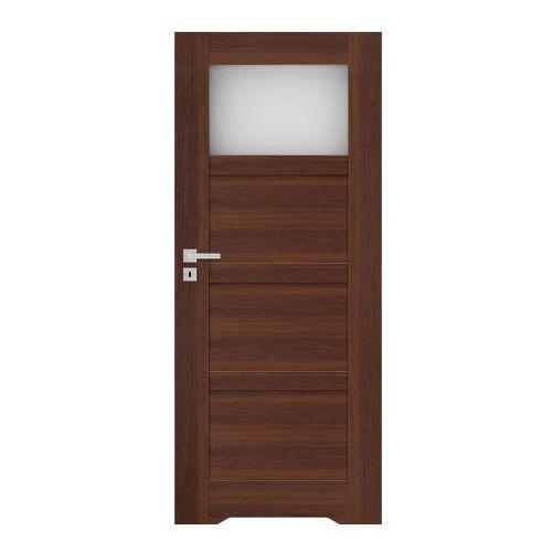 Drzwi z podcięciem Connemara 70 prawe orzech north