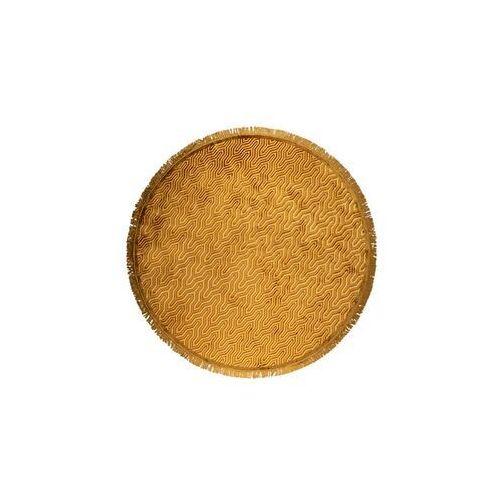 i feel so soft okrągły dywan 200 żółty bm60021 marki Bold monkey