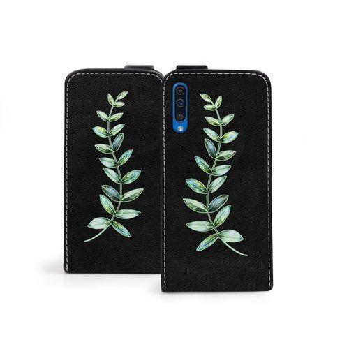 Etuo flip fantastic Samsung galaxy a50 - etui na telefon flip fantastic - zielona gałązka