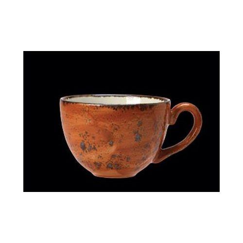 Filiżanka z porcelany low craft ceglasty 227 ml 11330189 marki Steelite