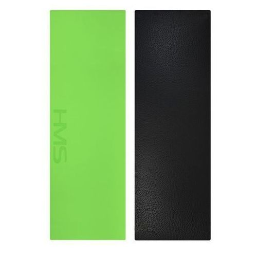 Hms Mata do jogi ym06t z pokrowcem 180x60x0,8 cm zielona - zielony (5907695534627)