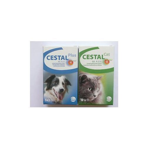 Ceva Cestal plus flavour 10 tabletek/ Tabletki Odrobaczające dla Psa. (5909997017457)