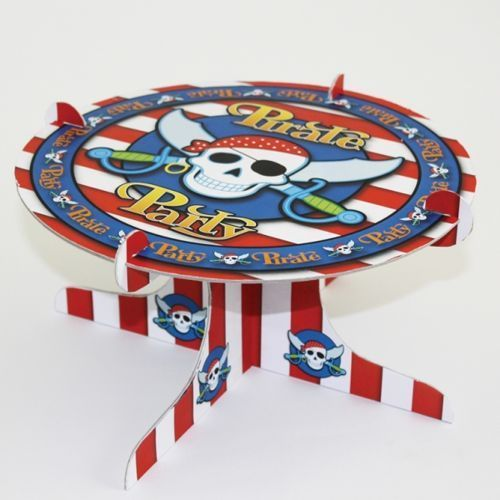 Patera na ciasto Pirackie Party - Pirat - 1 szt.