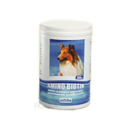 MIKITA Amino Biotin mieszanka witaminowa dla psów i kotów w proszku