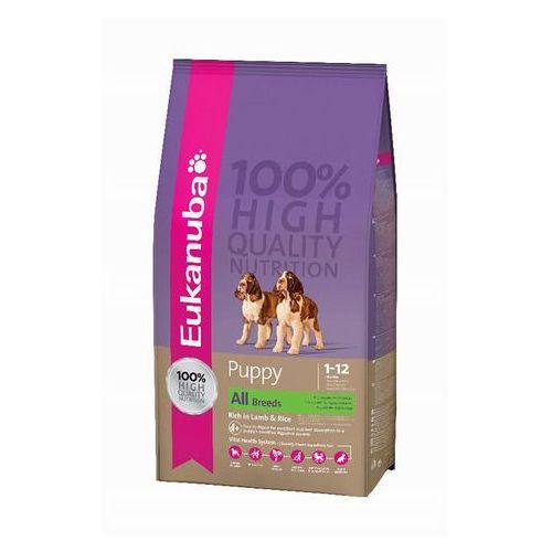 Eukanuba puppy & junior rich in lamb & rice 2,5kg (0190142313790)