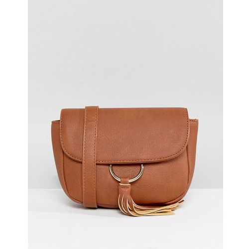 Yoki fashion Yoki bum bag with tassel and hardware - tan