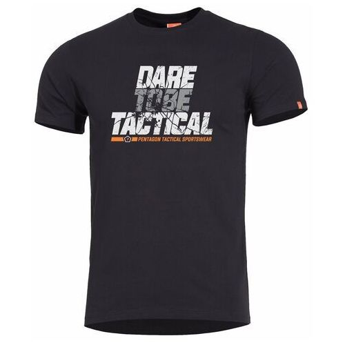 T-shirt ageron dare to be tactical, black (k09012-dt-01), Pentagon
