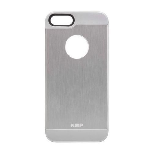 Etui aluminiowe KMP 1416620203 do iPhone 5/5S do iPhone SE kolor srebrny, kolor szary