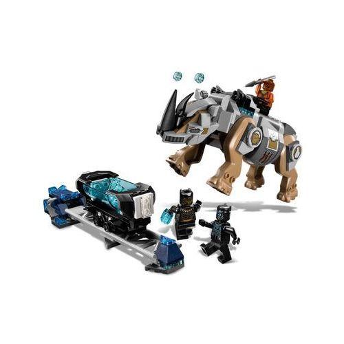 76099 POJEDYNEK Z NOSOROŻCEM W POBLIŻU KOPALNI (Rhino Face-Off by the Mine) - KLOCKI LEGO SUPER HEROES