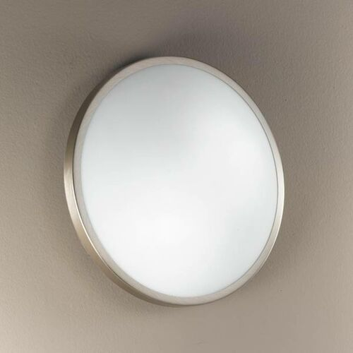 Fabas luce Plaza lampa sufitowa i ścienna 21,5cm nikiel