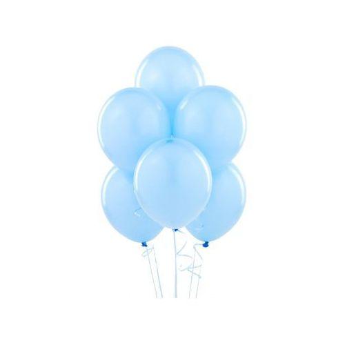 Balony lateksowe pastelowe błękitne - duże - 100 szt. (5901157461322)