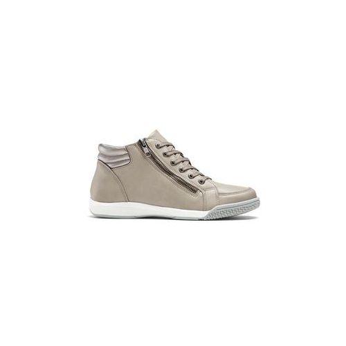 Wysokie sneakersy bonprix brunatny, kolor brązowy