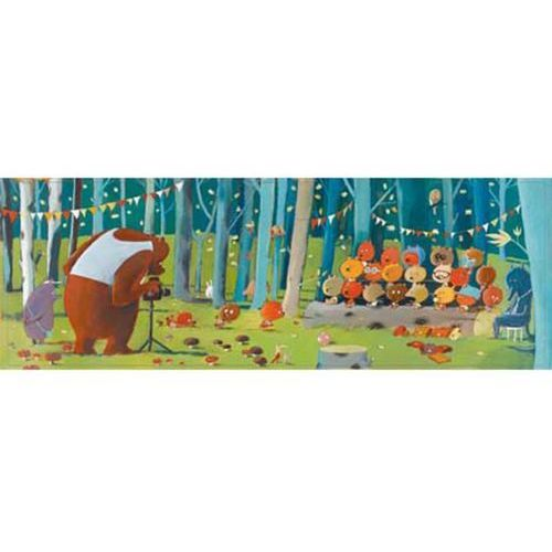 Puzzle gallery olivier tallec - leśni przyjaciele marki Djeco