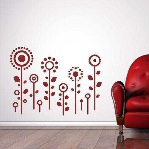 Wally - piękno dekoracji Naklejka kwiatki 1357