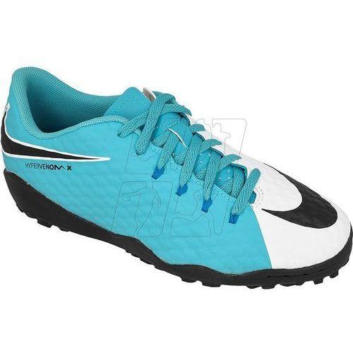 Buty piłkarskie Nike HypervenomX Phelon III TF Jr 852598-104