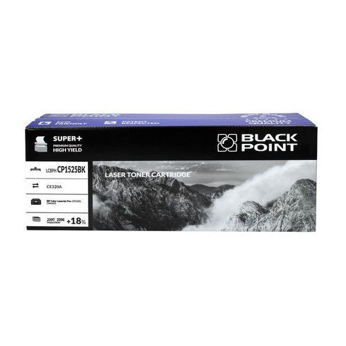 Black point Toner hp ce320a czarny 2.35k bp