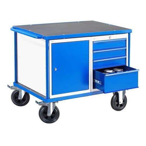 Aj produkty Wózek warsztatowy mobile, szafka, szuflada, 875x1000x700 mm