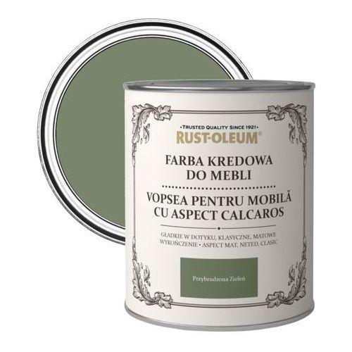 Farba kredowa do mebli Rust-Oleum przybrudzona zieleń 0,125 l, R0070011X5