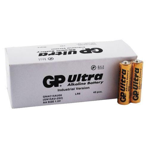 40 x bateria alkaliczna ultra alkaline industrial lr6/aa (karton) marki Gp