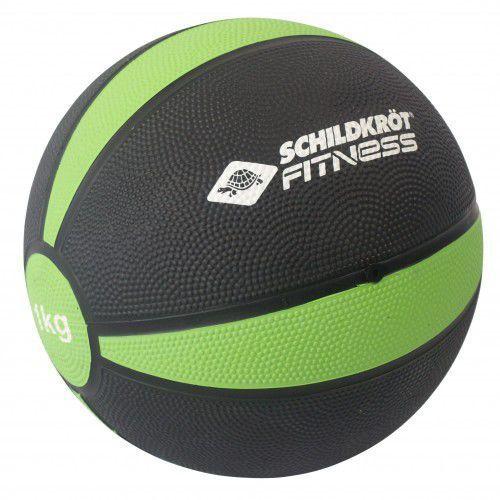 Schildkrot fitness Piłka lekarska z trwałej gumy 1kg schildkrot