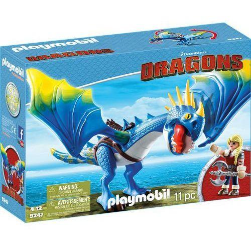Playmobil DRAGONS Astrid i wichura 9247