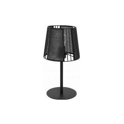 Tk lighting carmen black 5163 lampa stołowa lampka 1x60w e27 czarny marki Tklighting