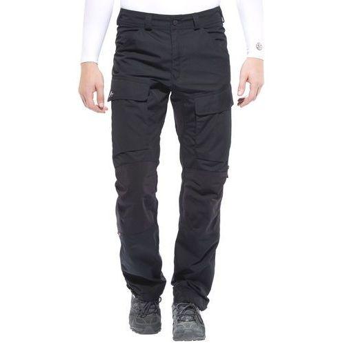 Lundhags authentic spodnie długie mężczyźni czarny 56-krótkie 2018 spodnie turystyczne
