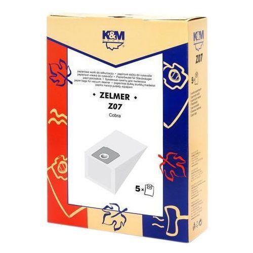 Worki do odkurzacza K&M Z07 + Zamów z DOSTAWĄ JUTRO! (5907525800175)