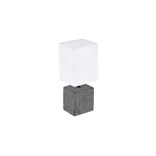 Eglo Mataro 1 99333 lampa stołowa lampka 1x40W E14 czarna/biała