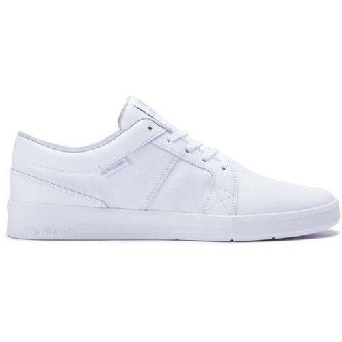 buty SUPRA - Ineto White-White (116), kolor biały