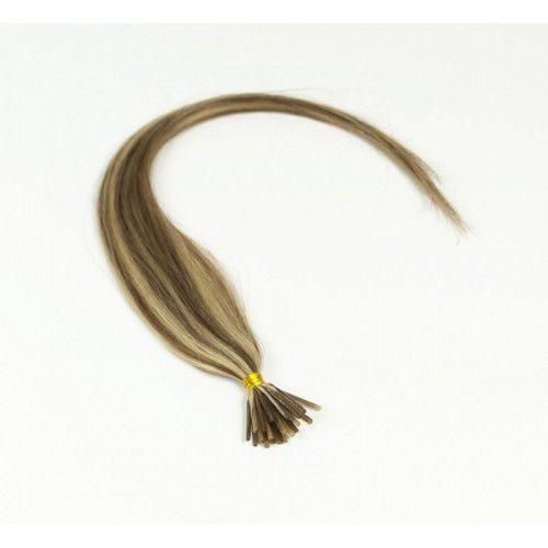 Włosy na ringi - kolor: #613/#6 baleyage - 20 pasm kręcone bardzo jasny słoneczny blond z jasnym blondem marki Longhair