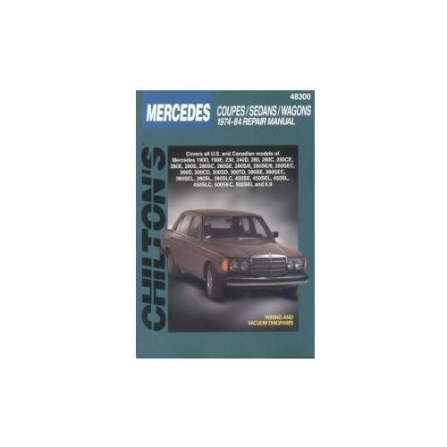 Mercedes-Benz Coupes, Sedans, Wagons 1974 - 1984