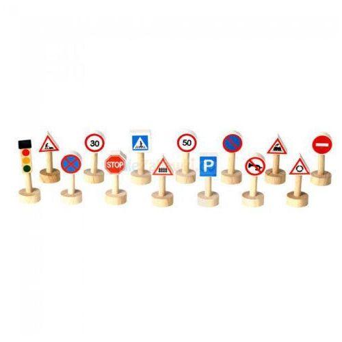 Plan toys Znaki drogowe i światła (8854740062031)