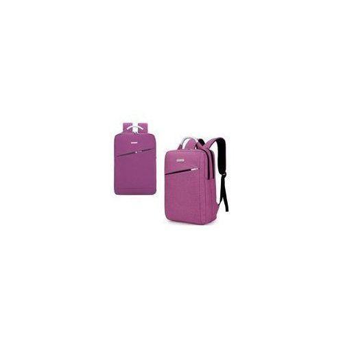 Plecak młodzieżowy z rączką fioletowy basic (5901276078227)