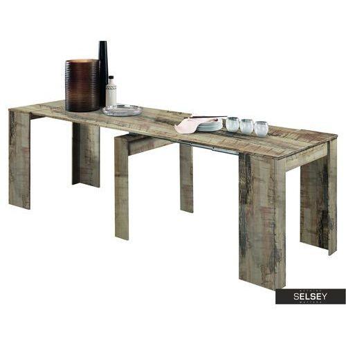 Selsey stół rozkładany dadivosa 54-252x79 cm dąb pero (5903025426761)