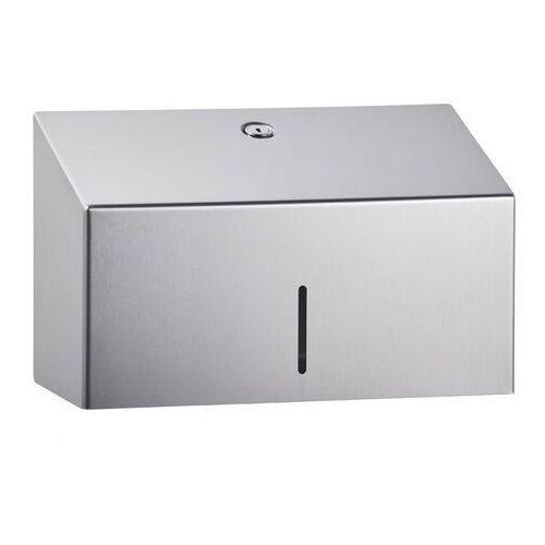 Pojemnik na ręczniki papierowe składane Merida Stella Mini - stal matowa, 110255