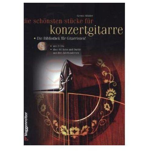 Die schönsten Stücke für Konzertgitarre, Gitarre solo und Duo, m. Audio-CD (9783802408168)