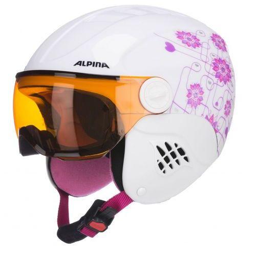 ALPINA CARAT VISOR S2 - kask narciarski R. 48-52 cm - 55%