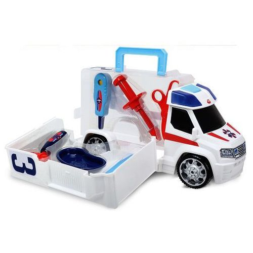 Dickie toys Dickie, ambulans z zestawem lekarskim