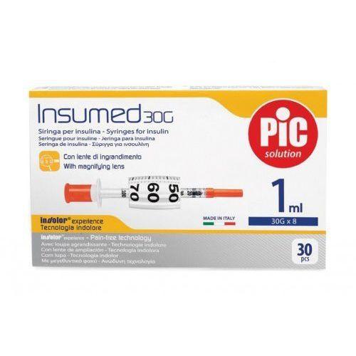 Strzykawki insulinowe INSUMED 1ml G30x8mm (30szt.), 151