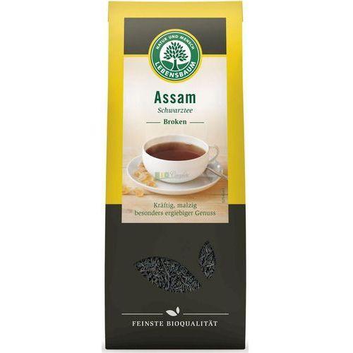 Herbata czarna assam liściasta bio 100 g - lebensbaum marki Lebensbaum (przyprawy, herbaty, kawy)