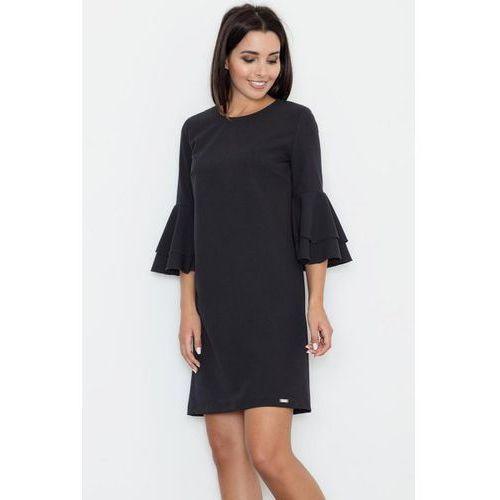 Figl M564 sukienka, kolor czarny