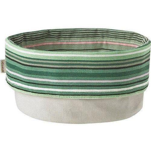 Pojemnik na pieczywo Stelton w paski w odcieniach zieleni
