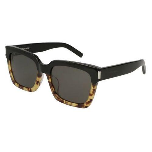 Okulary słoneczne bold 1/k 004 marki Saint laurent