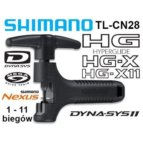 Y13098500 Wyciskacz łańcucha Shimano TL-CN28 HG/IG/UG/NX10 (1-11 rzedów) (4524667398356)
