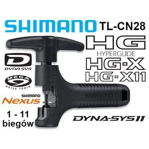 Y13098500 Wyciskacz łańcucha Shimano TL-CN28 HG/IG/UG/NX10 (1-11 rzedów) - produkt z kategorii- Narzędzia rowerowe i smary