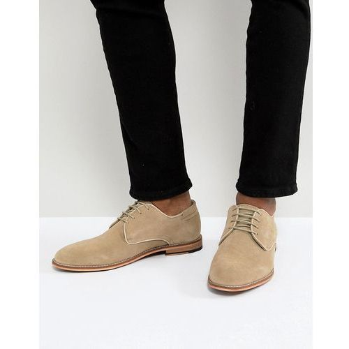 suede lace up shoes in beige - beige, Pier one