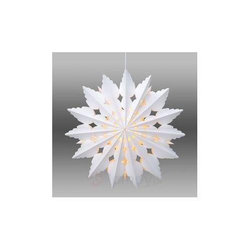 Wisząca gwiazda papierowa bosjön, dekoracyjny wzór od producenta Markslöjd